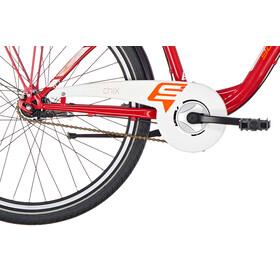 s'cool chiX 26 7-S - Vélo junior Enfant - steel rouge
